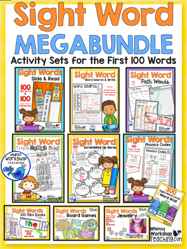 Sight Words - Megabundle