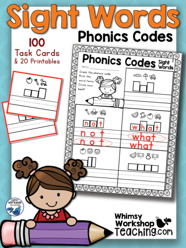 Sight Words - Phonics Codes