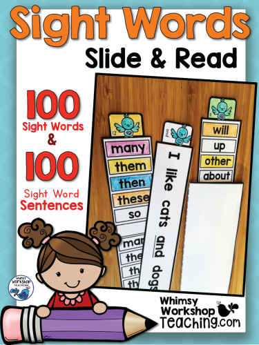 Sight Words - Slide & Read