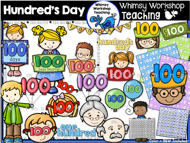Hundreds Day Clip Art