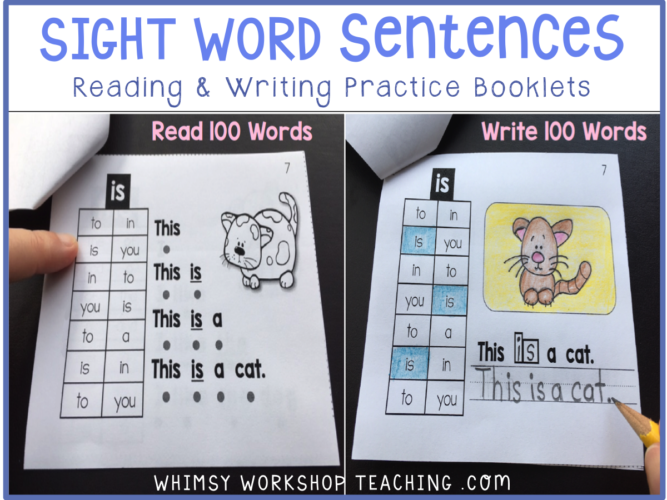 FB sight words