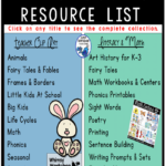 Grab this clickable catalogue so you can find anything you need at my tpt store right away. It's always up to date! (free)