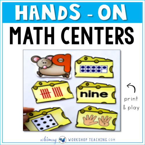 Hands On Math Centers