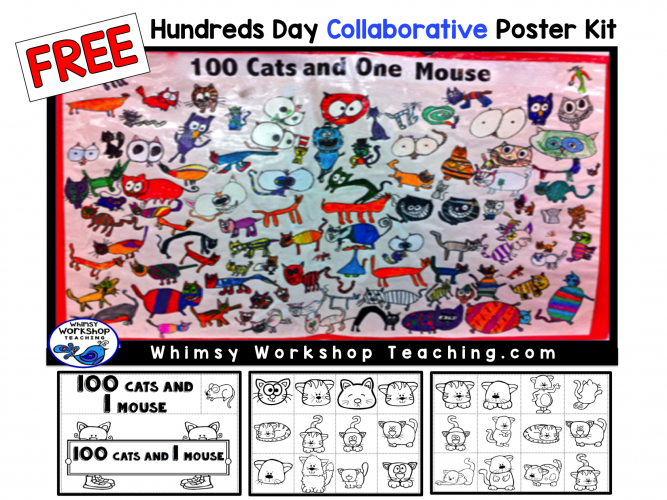 Hundred Cats Poster Kit