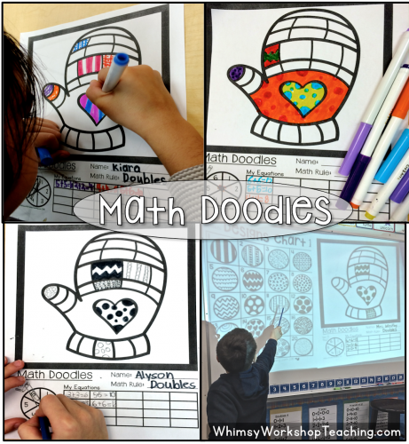 Math Doodles - Math has never been so fun integrated with art!