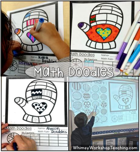 Math Doodles Mitten