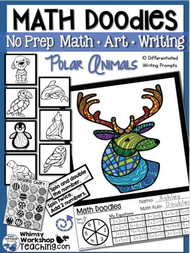 Math Doodles Polar Animals