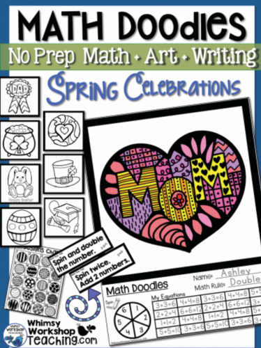 Math Doodles Spring Celebrations