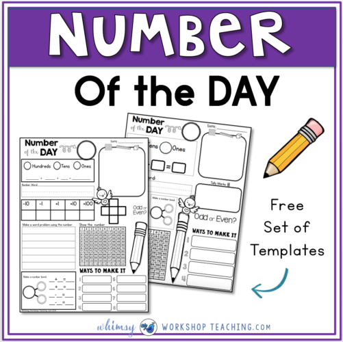 Number of the Day Differentiated Templates