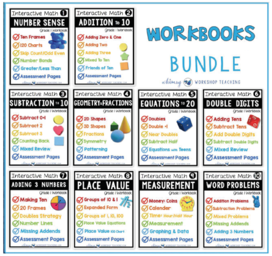 Math Workbooks for the whole year