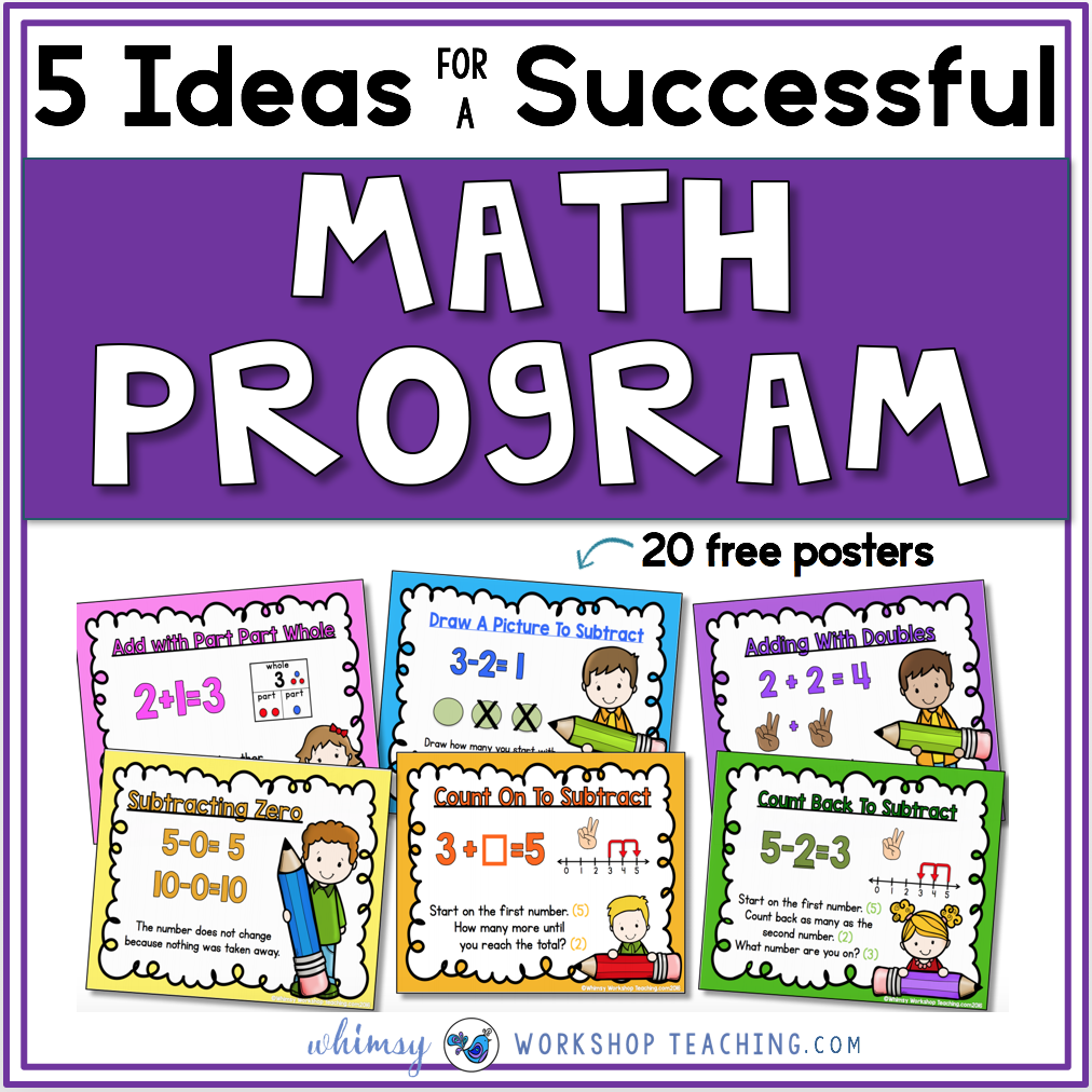 Ideas for a successful math program