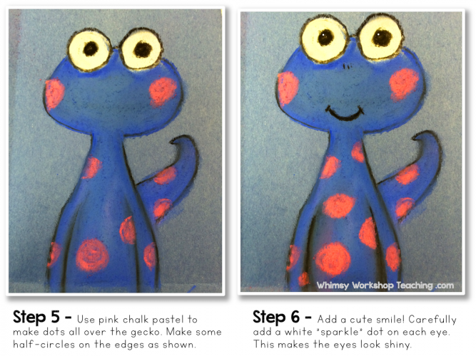 Art Tutorial Little Gecko