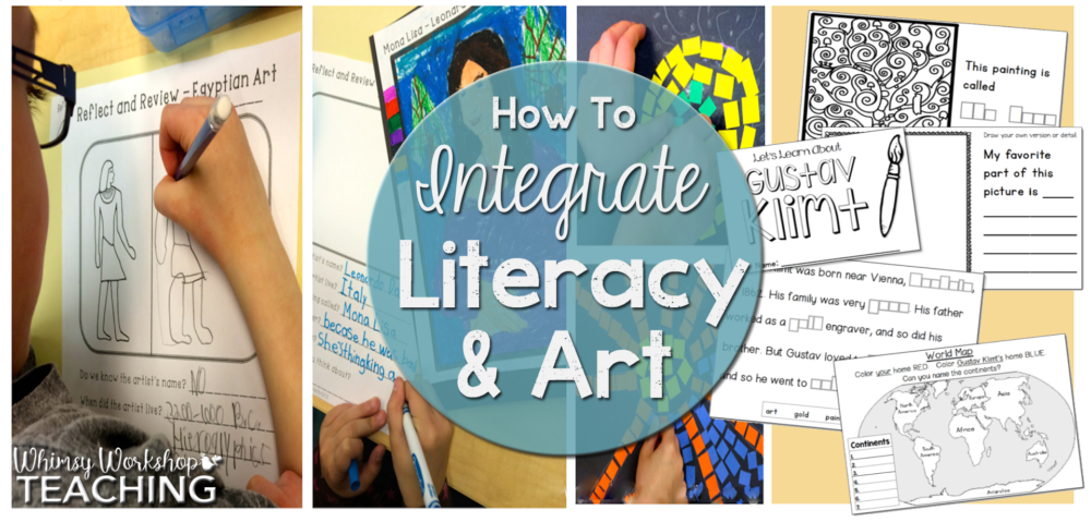 Rather than missing out on enriching and engaging art lessons due to lack of time, use those art lessons as a vehicle for great writing! Students love to write about their own art experiences, and the lives of other artists. Click to see how we integrate art and literacy for happy students and amazing writing!