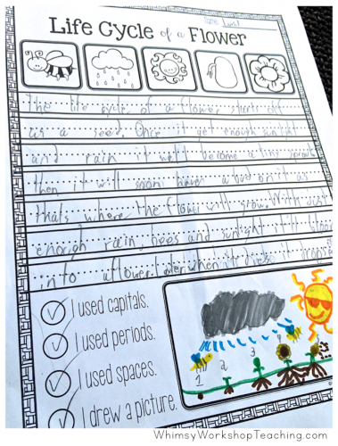 Coloring activities that integrate math, writing, art and science for a stunning and educational bulletin display. (Free sample pages)