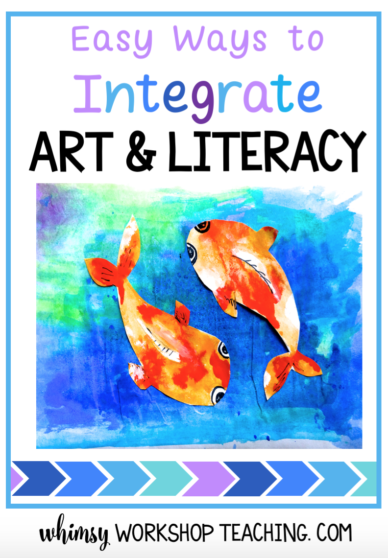 Integrate literacy while studying art history and cultural art around the world (free lessons download)