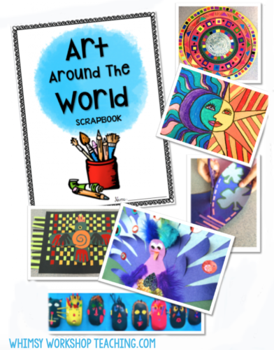 Art Around the World is a great way to promote literacy and art in the classroom, while also studying geography and other cultures