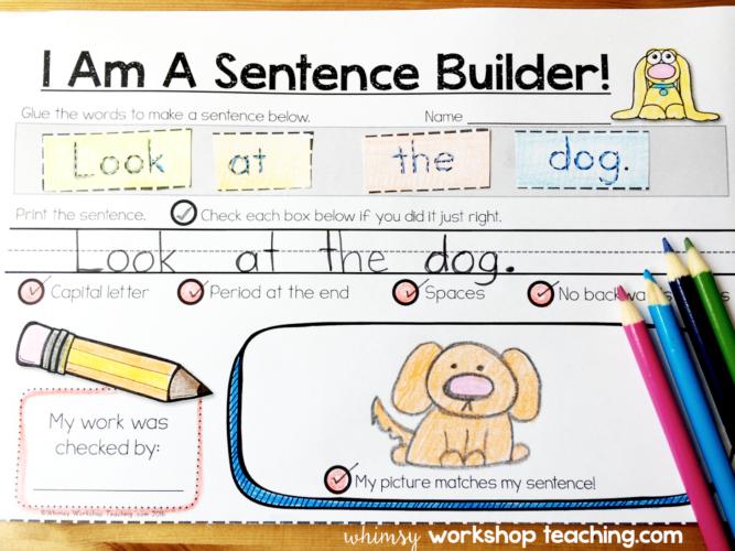 Sentence Building Kits