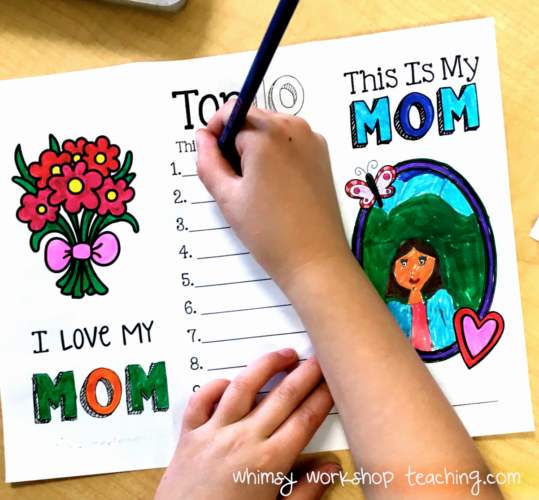 free mother's day brochure