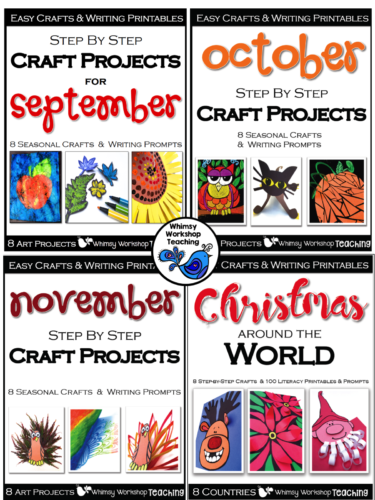 Step By Step crafts make it easy to plan for seasonal art - all the work is done for you!