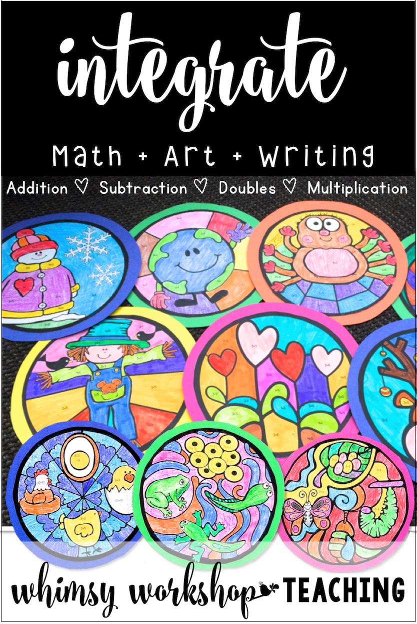 Integrating Math Writing Art And Science Whimsy Workshop Teaching