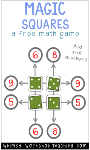 This is a FREE simple math game to practice basic operations and particularly the commutative property. Easy to differentiate with dice, and words for multiplication too!
