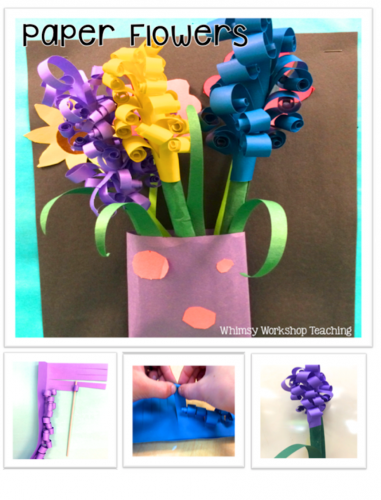 Paper flower tutorial - Tips to make this stunning craft easy for little fingers!