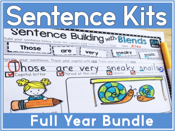 2 Sentence Kits