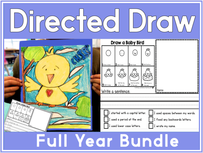 4 Directed Draw and Write
