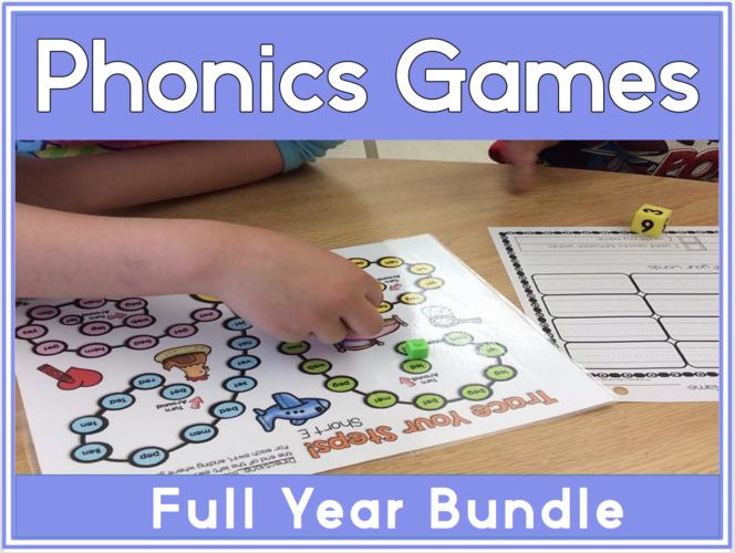 5 Phonics Game Board