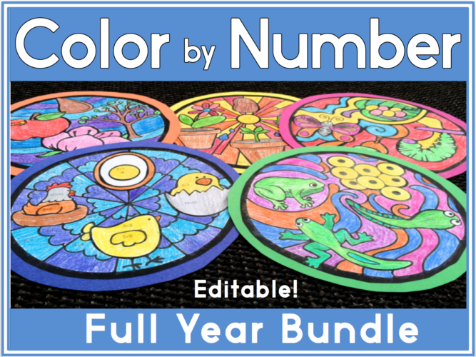 7 Color by Number