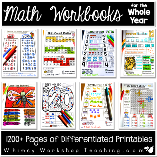 Math Workbook Bundle Cover