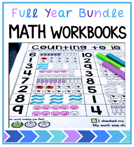 Full year of grade one printable workbooks that are differentiated and engaging. Matches the full year set of printable centers