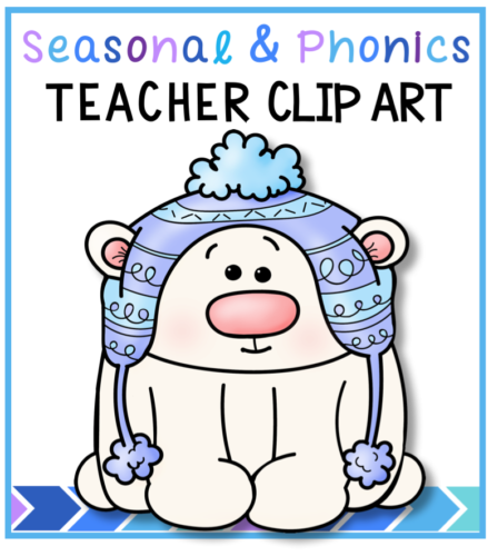 Teacher Clip Art for Seasonal and Phonics projects