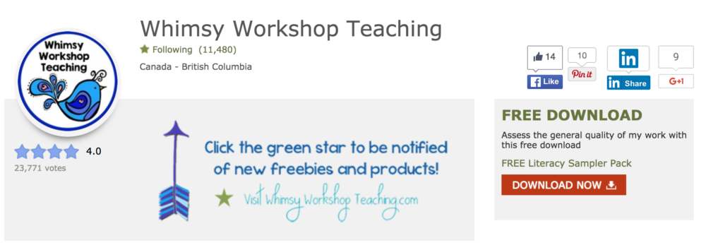 Whimsy Workshop Teaching resources at Teachers Pay Teachers