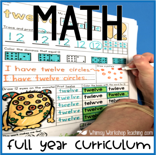 Math Centers and Workbooks