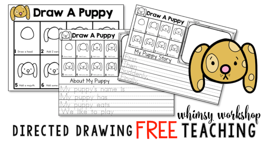 Grab this cute free directed drawing lesson with writing prompts included.