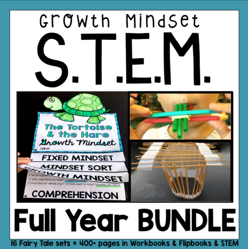 STEM and Growth Mindset Mega Bundle for the Entire Year