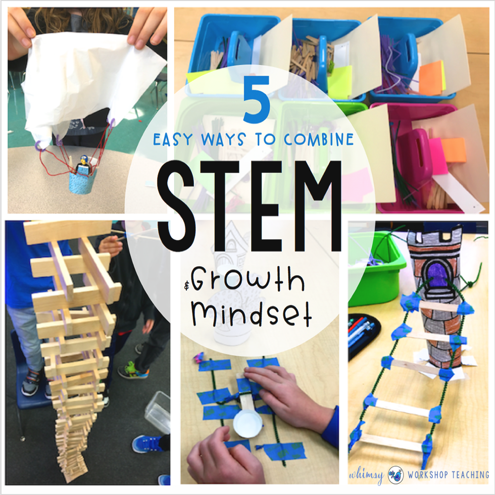 5 easy ways to add growth mindset to stem