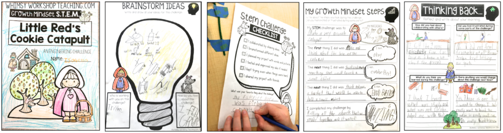 STEM and growth mindset concepts are perfect to teach together through fairy tale partner plays. Download a set of free STEM posters to get started