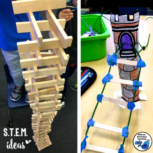 Teach STEM and Growth Mindset together with fairy tale partner plays!