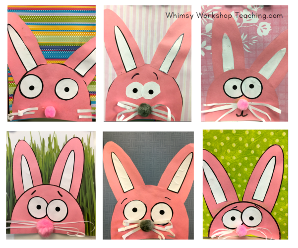 step by step bunnies for Easter