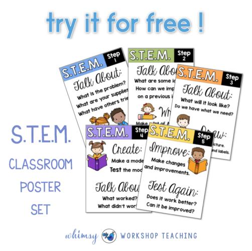 FREE STEM poster set