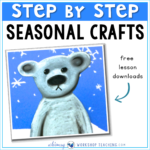 Step by step seasonal craft ideas through the whole year