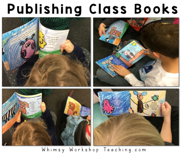 Publishing class books make students feel like real authors and find a new purpose for their writing!