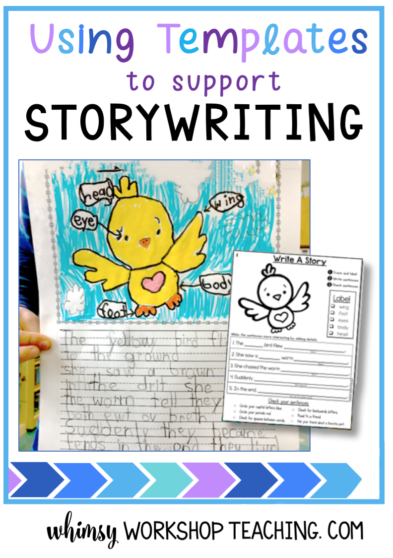 Writing templates are a great way to support independent student writing, especially when they are differentiated for every level (free sample pages)