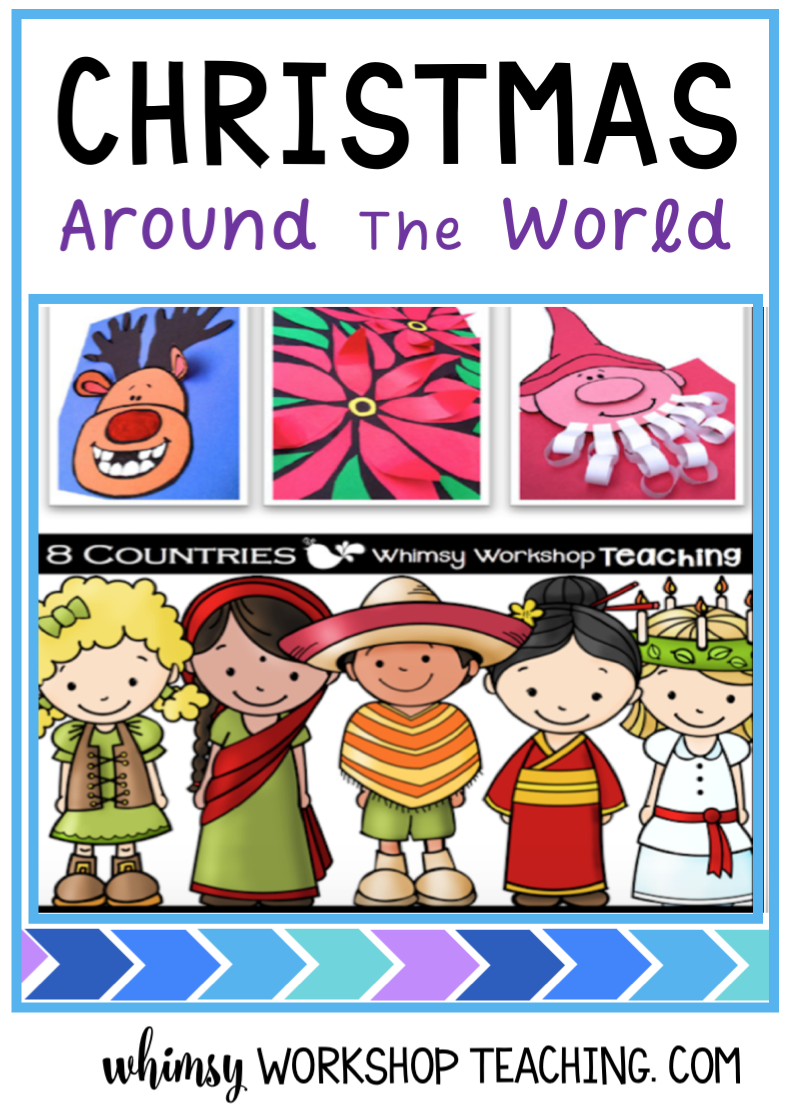 Art and literacy together as you explore different cultural celebrations around the world - Differentiated and no prep printables included for each country!