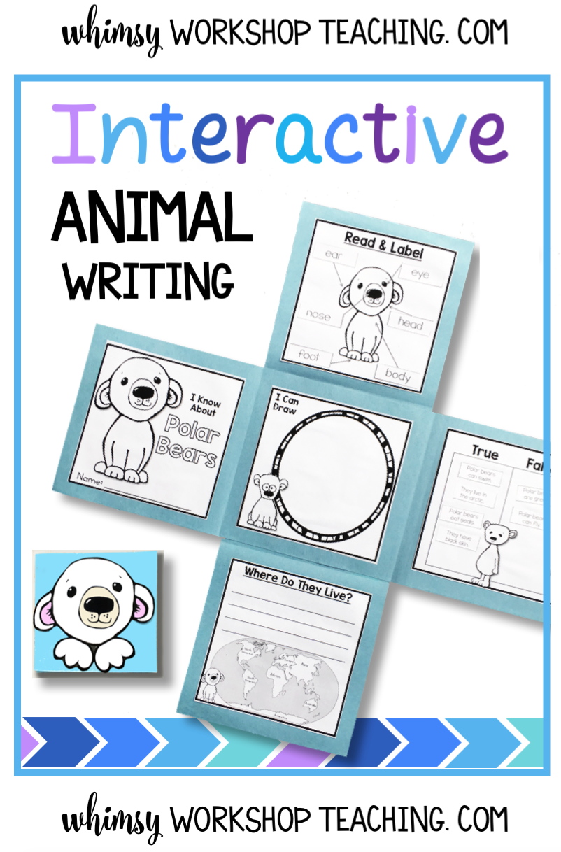 Use interactive flap books to keep non-diction projects fun and engaging! This bundle has 10 animal sets with 30 differentiated choice of writing activities to glue on all the expanding pages