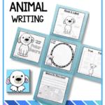 Animal Writing Flap Books