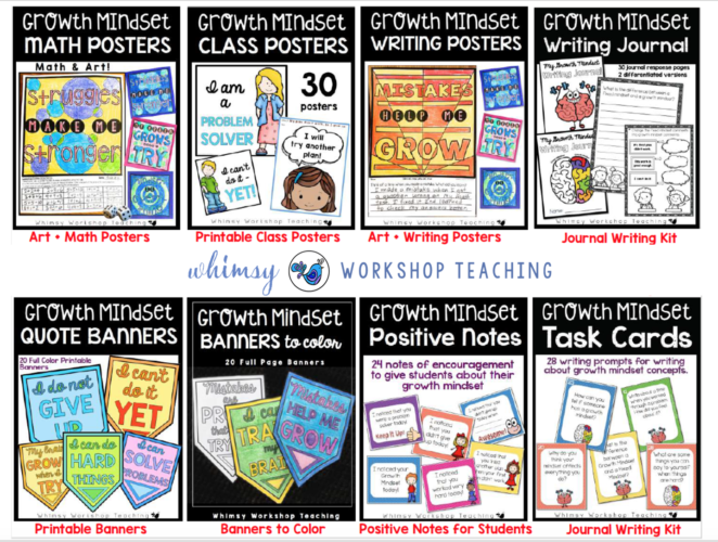 Growth Mindset Classroom Bundle