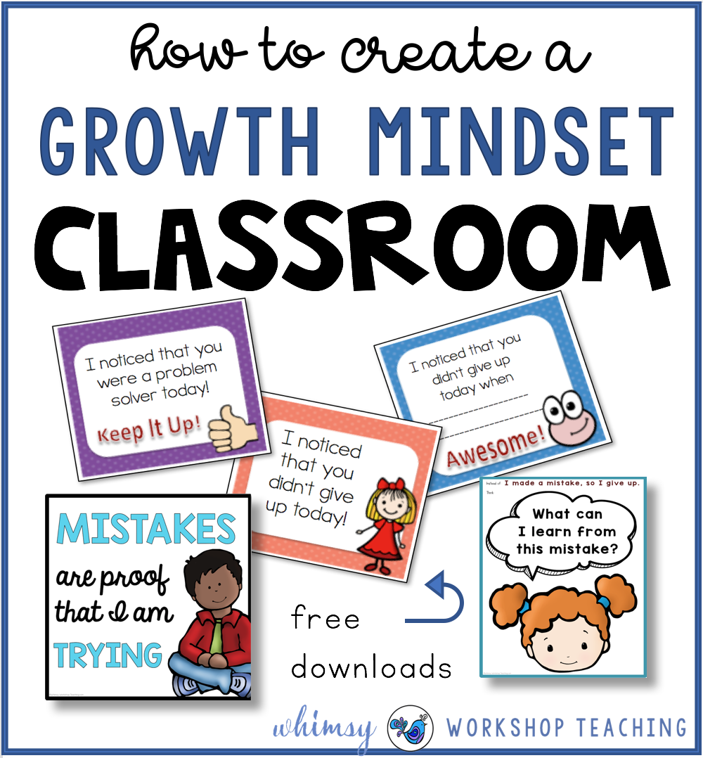 Growth Mindset classroom ideas